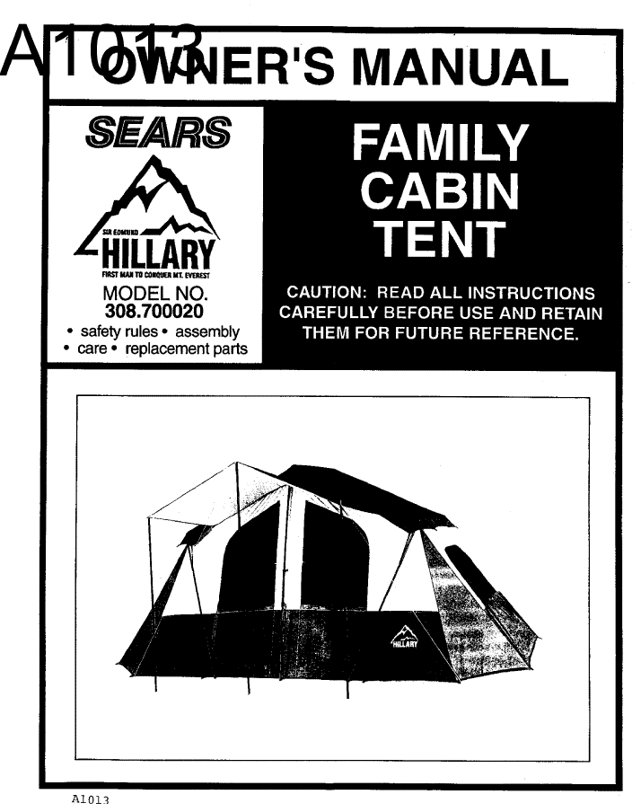Hillary-Tent-Instructions ...  sc 1 st  Hillary Tent & Hillary Tent Instructions: An Exclusive Find