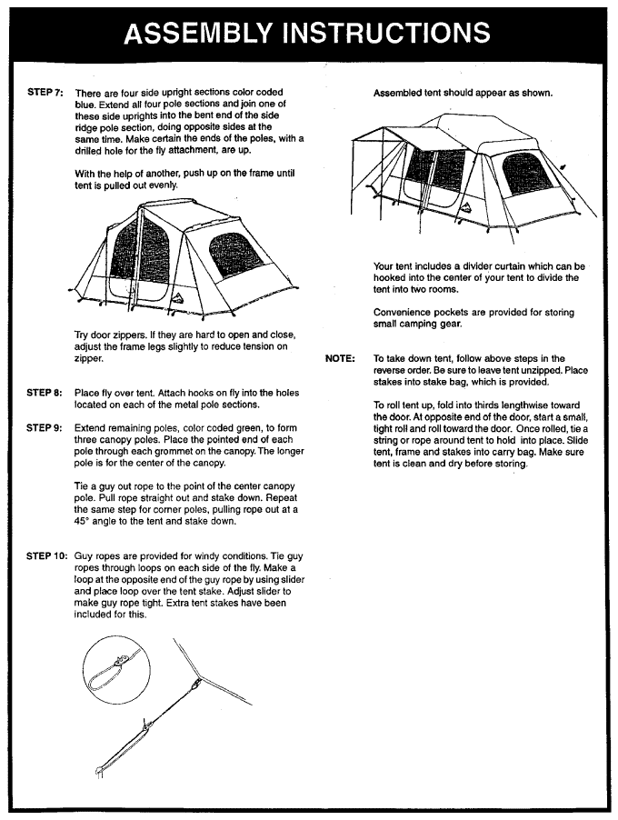 ... 308.700020-2 Hillary-Tent-Instructions 308.700020-3  sc 1 st  Hillary Tent & Hillary Tent Instructions: An Exclusive Find