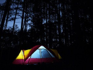 5 Tips To Make It Through Your FIrst Time Camping With Kids