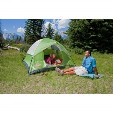 Comfortable 3-Person Coleman Sundome Dome Tent