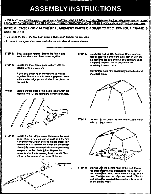 Hillary-Tent-Instructions Hillary-Tent-Instructions ...  sc 1 st  Hillary Tent & Hillary Tent Instructions: An Exclusive Find