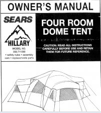 Hillary Tent Instructions: An Exclusive Find