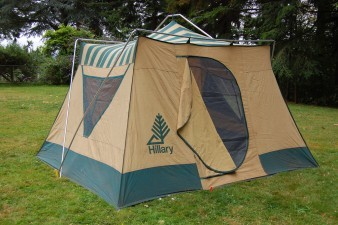 Hillary Tent Set Up